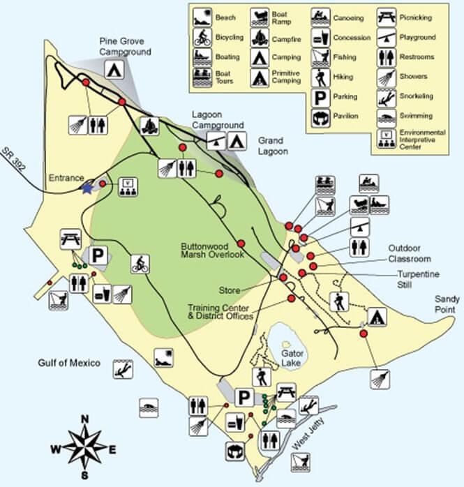 St Andrews Jetties Snorkeling Map
