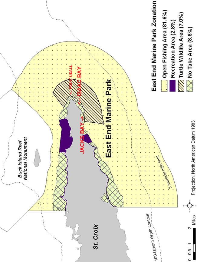 Isaacs Bay Snorkeling Map