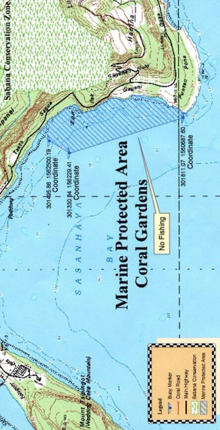 Rota Snorkeling Map