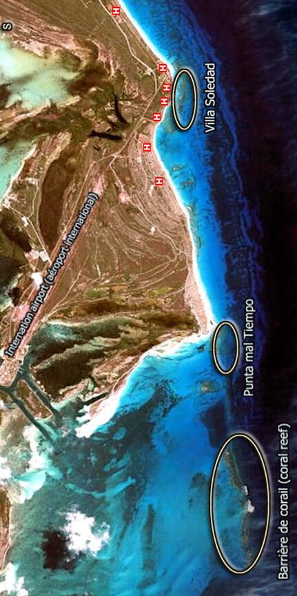Cayo Largo Snorkeling Map