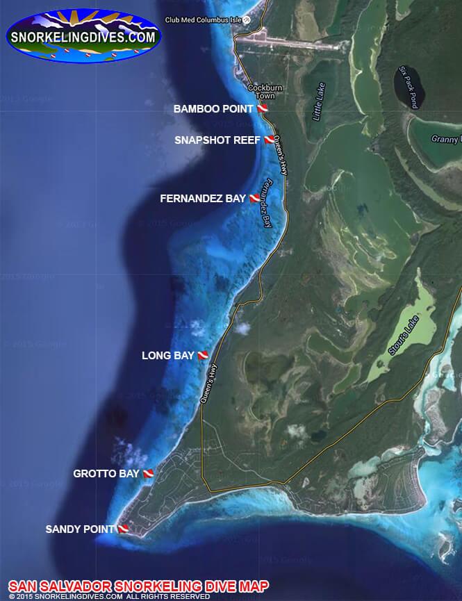 Snapshot Reef Snorkeling Map