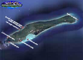 Lea Leas Lookout Snorkeling Map
