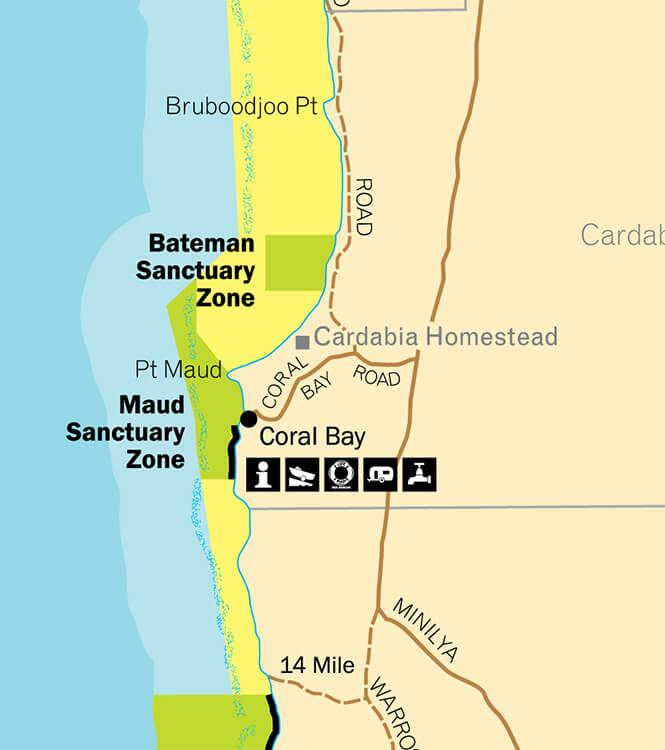 Bill's Bay Snorkeling Map