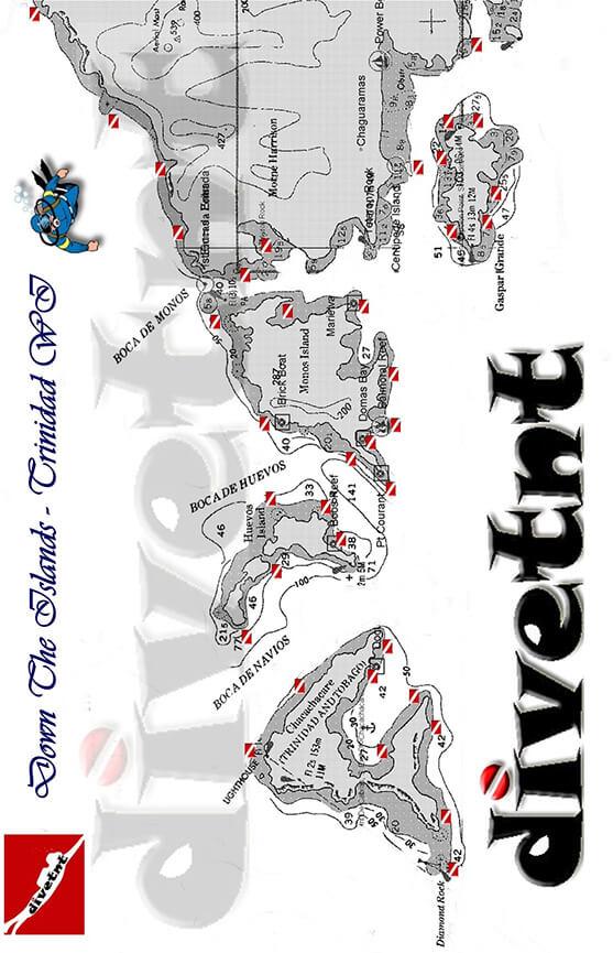 Gasper Grande Island Snorkeling Map