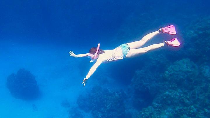 Snorkeling at Eden Rock, Grand Cayman
