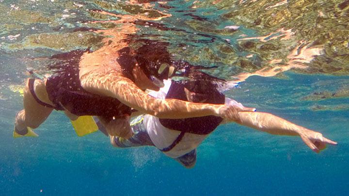 Snorkeling West Caicos