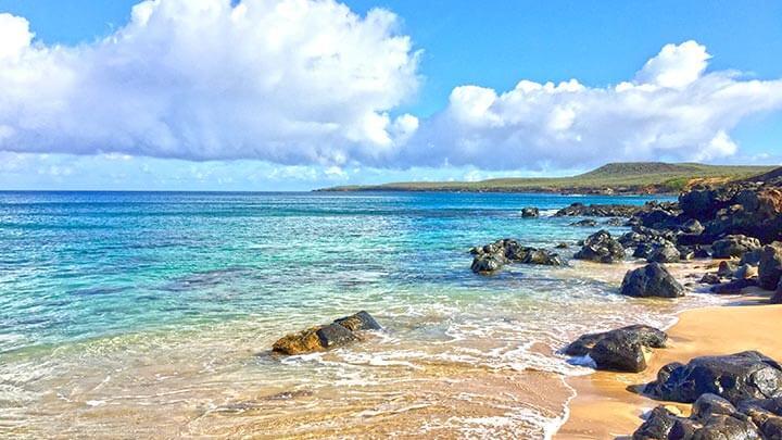 Snorkeling At Kawakiu Beach On Molokai