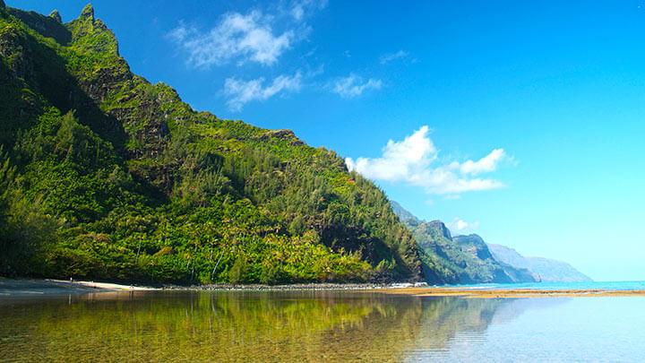 Ke'e Beach In Kauai